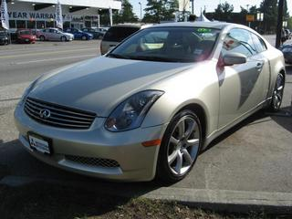 Infiniti G35 Coupe Parts Montreal infiniti parts montreal